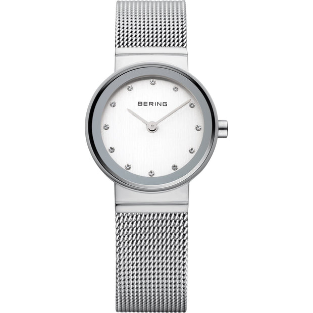 Bering Classic Silver 22 mm Women's Watches 10122-000 - Bering