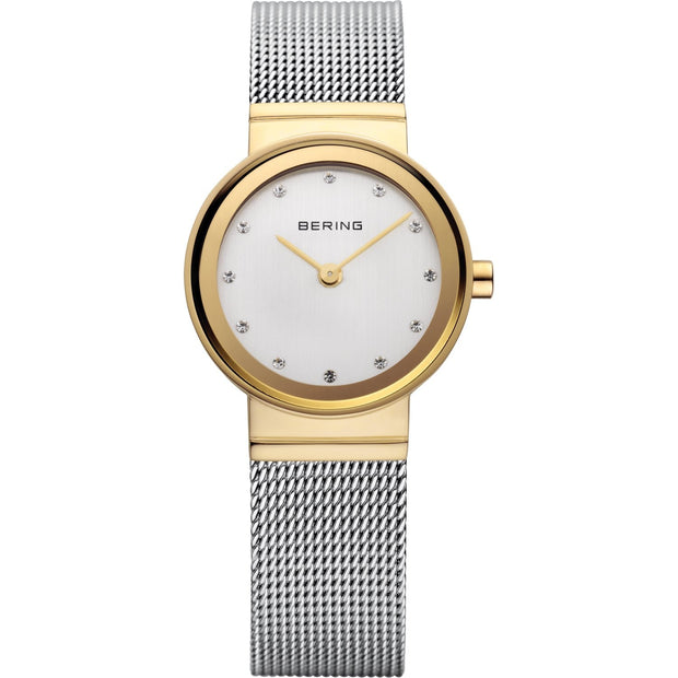 Bering Classic Gold 22 mm Women's Watches 10122-001 - Bering