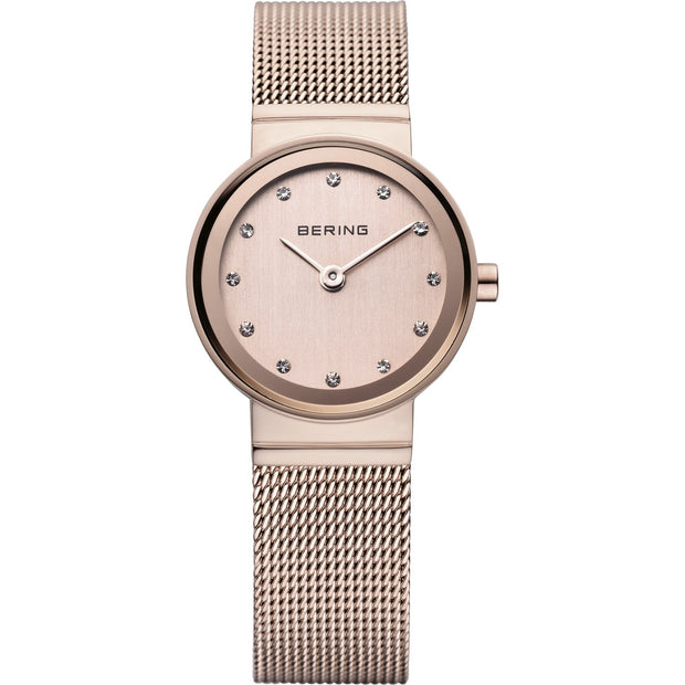 Bering Classic Rose Gold 22 mm Women's Watches 10122-366 - Bering