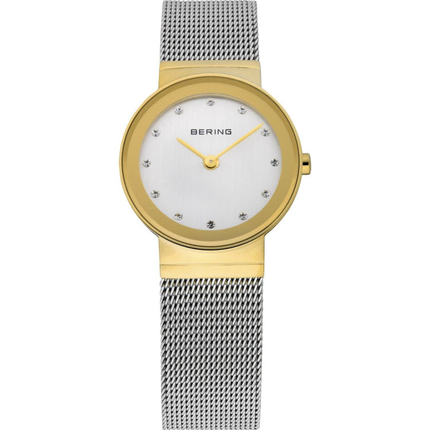 Bering Classic Gold 26 mm Women's Watches 10126-001 - Bering