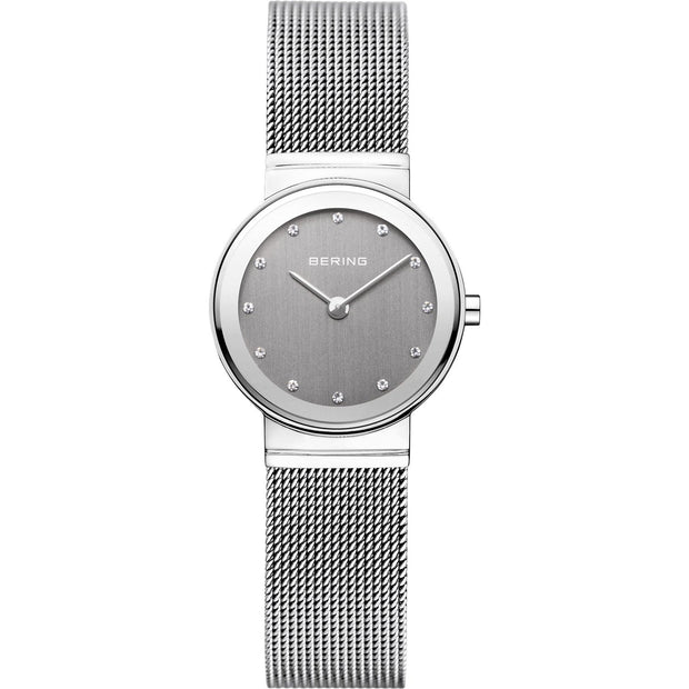 Bering Classic Silver 26 mm Women's Watches 10126-309 - Bering