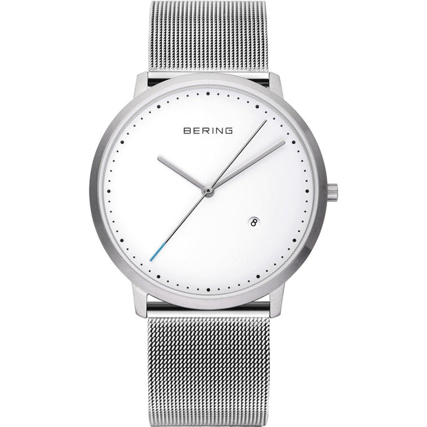Bering Classic Silver 39 mm Unisex Watches 11139-004 - Bering