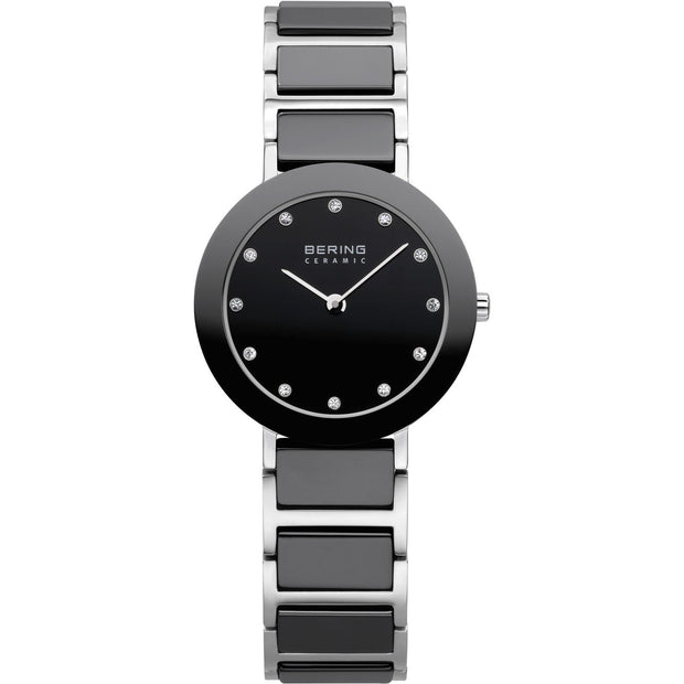 Bering Ceramic Silver 29 mm Women's Watches 11429-742 - Bering