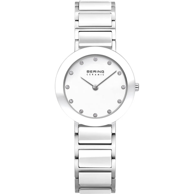 Bering Ceramic Silver 29 mm Women's Watches 11429-754 - Bering
