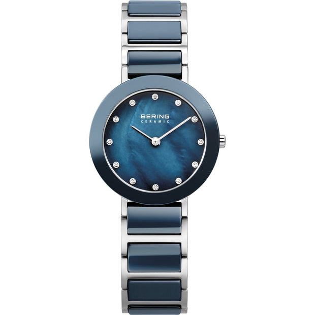 Bering Ceramic Silver 29 mm Women's Watches 11429-787 - Bering