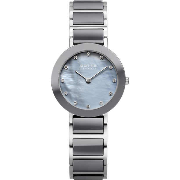Bering Ceramic Silver 29 mm Women's Watches 11429-789 - Bering