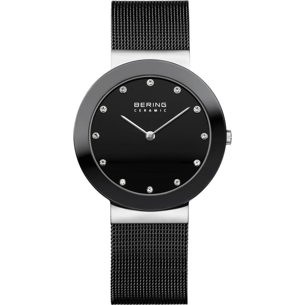 Bering Ceramic Silver 35 mm Unisex Watches 11435-102 - Bering