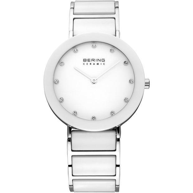 Bering Ceramic Silver 35 mm Women's Watches 11435-754 - Bering