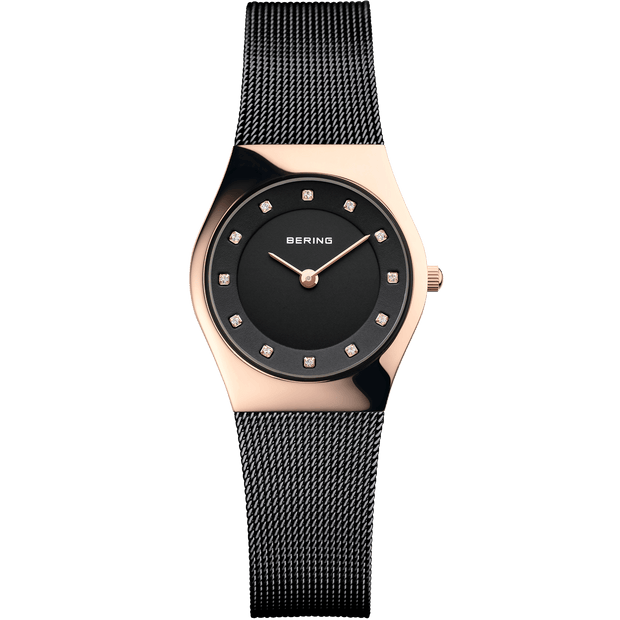 Bering Classic Rose Gold 27 mm Women's Watches 11927-166 - Bering
