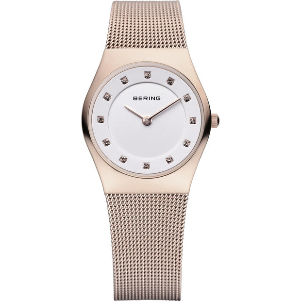 Bering Classic Rose Gold 27 mm Women's Watches 11927-366 - Bering