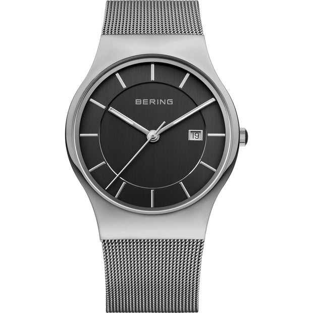 Bering Classic Silver 40 mm Men's Watches 11938-002 - Bering