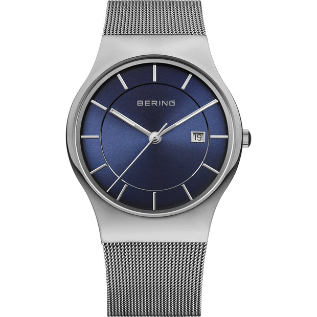 Bering Classic Silver 40 mm Men's Watches 11938-003 - Bering