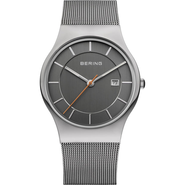 Bering Classic Silver 40 mm Men's Watches 11938-007 - Bering