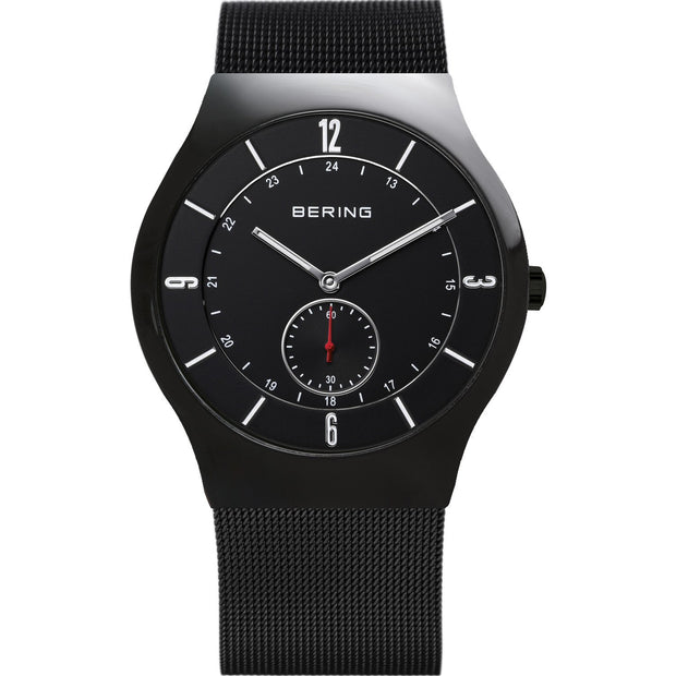 Bering Classic Black 40 mm Men's Watches 11940-222 - Bering