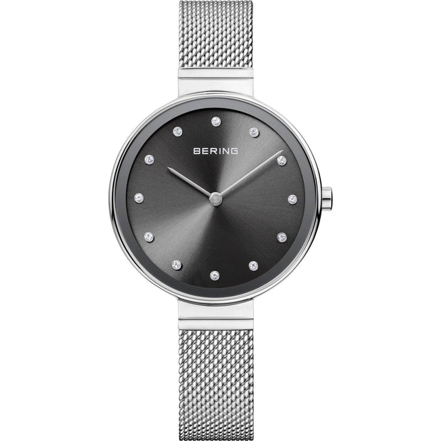 Bering Classic Silver 34 mm Women's Watches 12034-009 - Bering