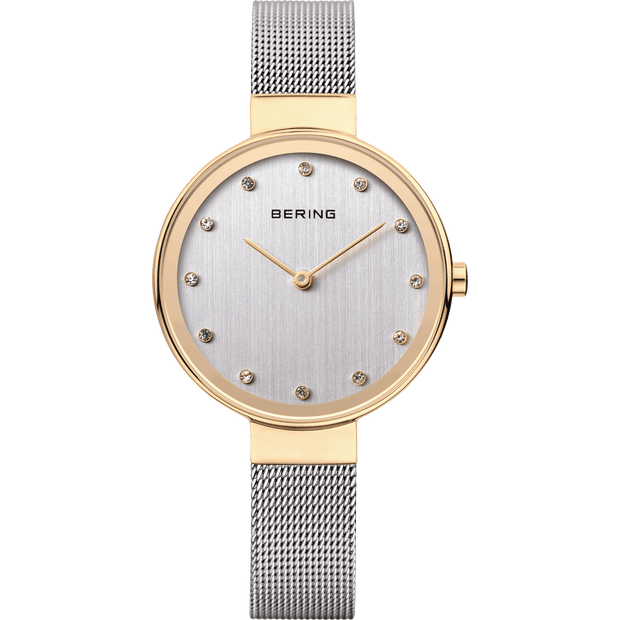Bering Classic Gold 34 mm Women's Watches 12034-010 - Bering