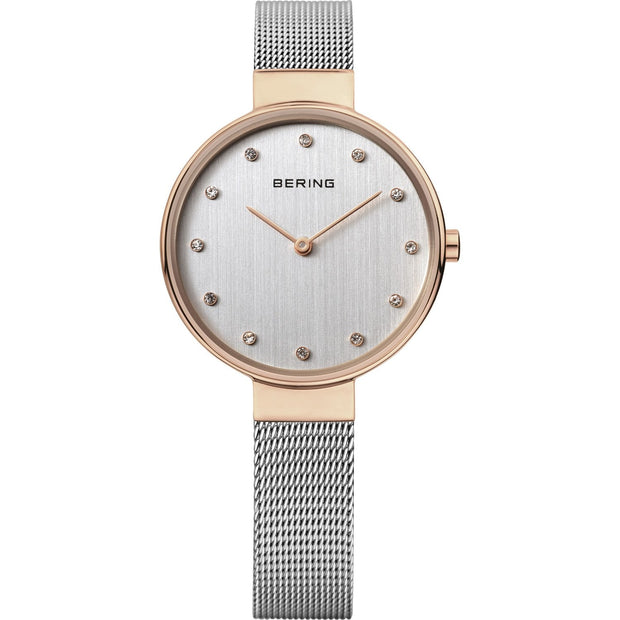 Bering Classic Rose Gold 34 mm Women's Watches 12034-064 - Bering