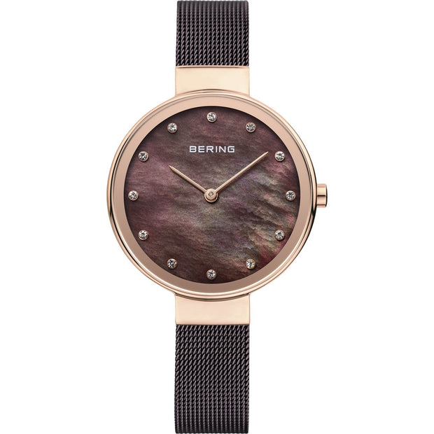 Bering Classic Rose Gold 34 mm Women's Watches 12034-265 - Bering
