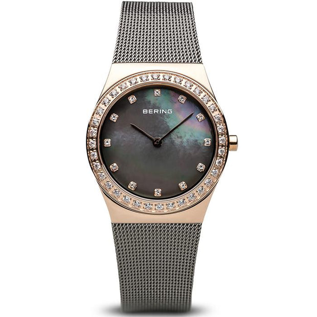 Bering Classic grey 30 mm female Watch (12430-369)