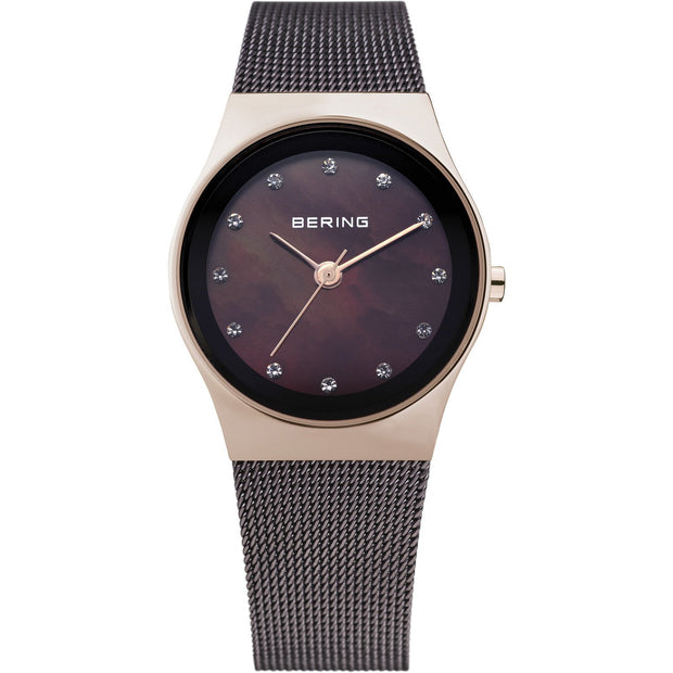 Bering Classic Rose Gold 27 mm Women's Watches 12927-262 - Bering