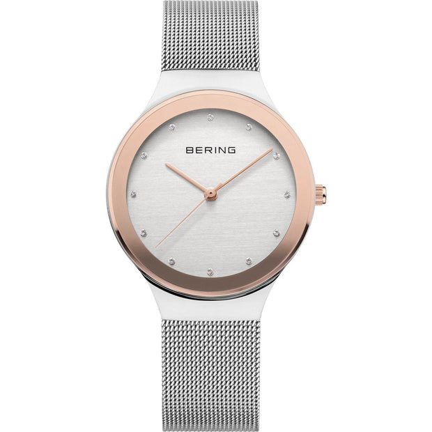 Bering Classic Silver 34 mm Women's Watches 12934-060 - Bering
