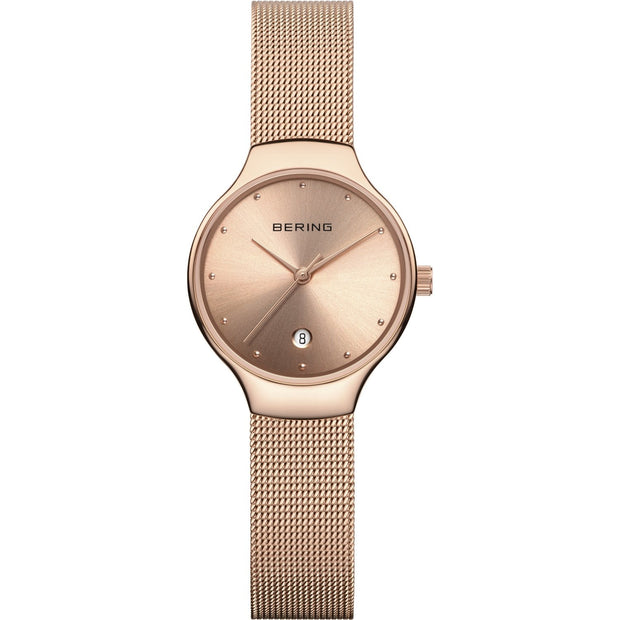Bering Classic Rose Gold 26 mm Women's Watches 13326-366 - Bering