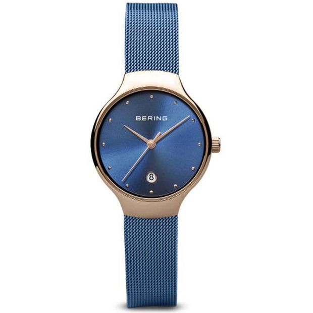Bering Classic blue 26 mm female Watch (13326-368)