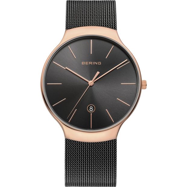 Bering Classic Rose Gold 38 mm Unisex Watches 13338-262 - Bering