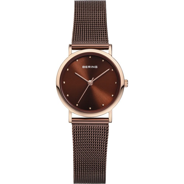 Bering Classic Rose Gold 26 mm Women's Watches 13426-265 - Bering