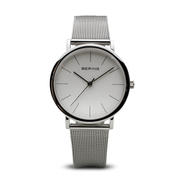Bering Classic Silver 36 mm Unisex Watches 13436-000 - Bering