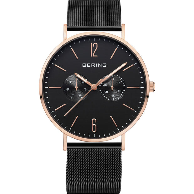 Bering Classic Rose Gold 40 mm Men's Watches 14240-166 - Bering