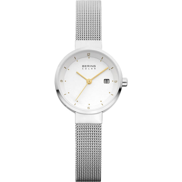 Bering Solar Silver 26 mm Women's Watches 14426-001 - Bering