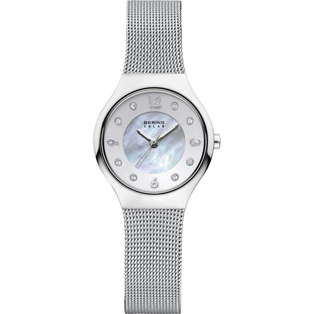 Bering Solar Silver 27 mm Women's Watches 14427-004 - Bering