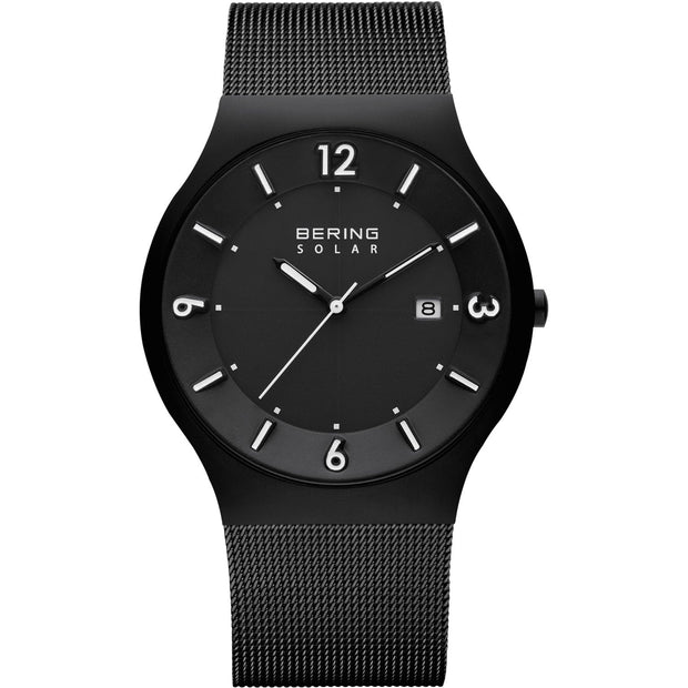 Bering Solar Black 40 mm Men's Watches 14440-222 - Bering
