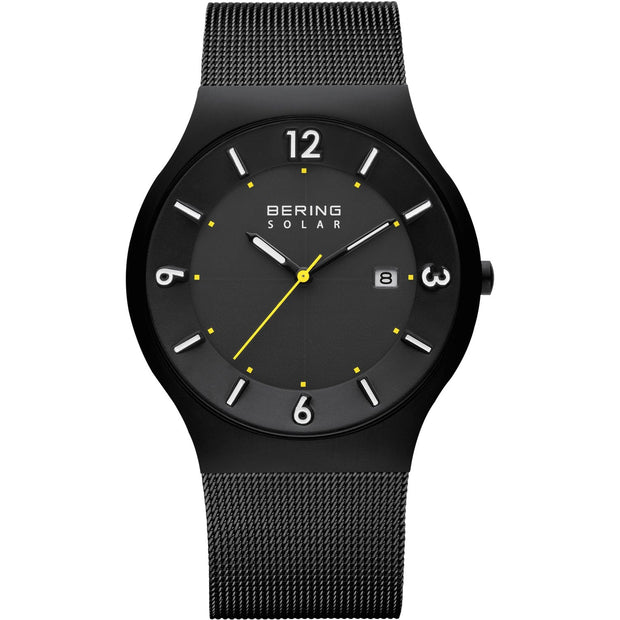 Bering Solar Black 40 mm Men's Watches 14440-223 - Bering