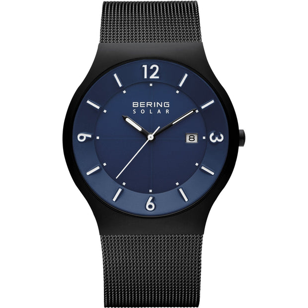 Bering Solar Black 40 mm Men's Watches 14440-227 - Bering