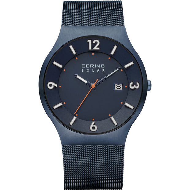 Bering Solar Blue 40 mm Men's Watches 14440-393 - Bering