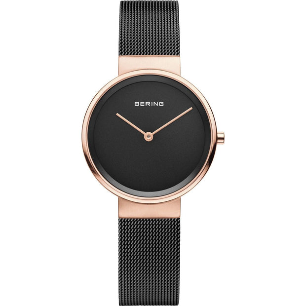 Bering Classic Rose Gold 31 mm Women's Watches 14531-166 - Bering