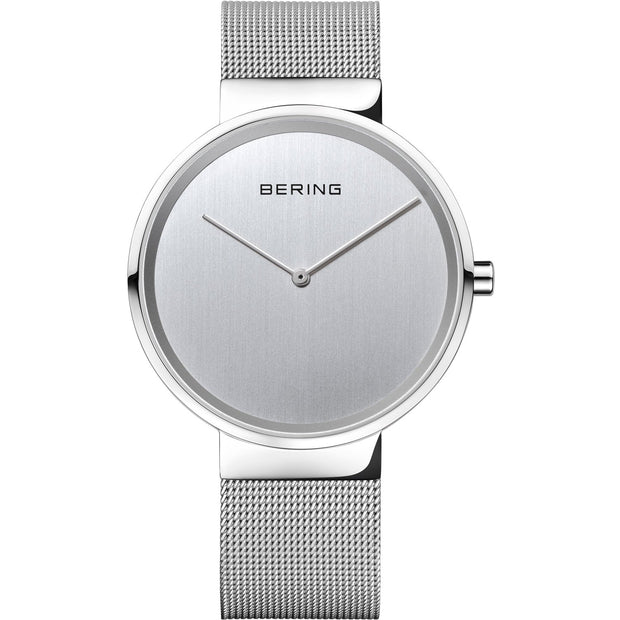 Bering Classic Silver 39 mm Unisex Watches 14539-000 - Bering