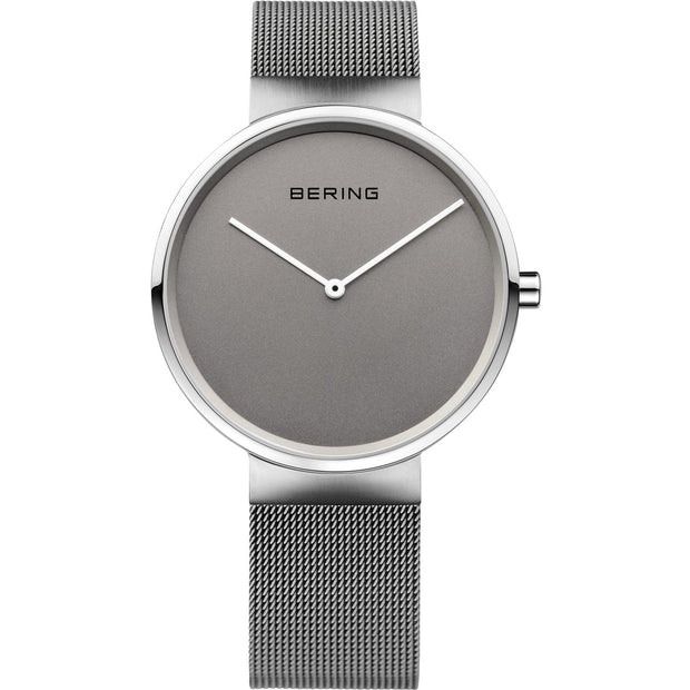 Bering Classic Silver 39 mm Unisex Watches 14539-077 - Bering