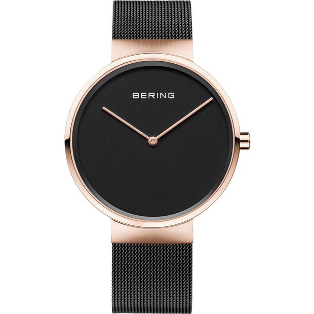 Bering Classic Rose Gold 39 mm Unisex Watches 14539-166 - Bering