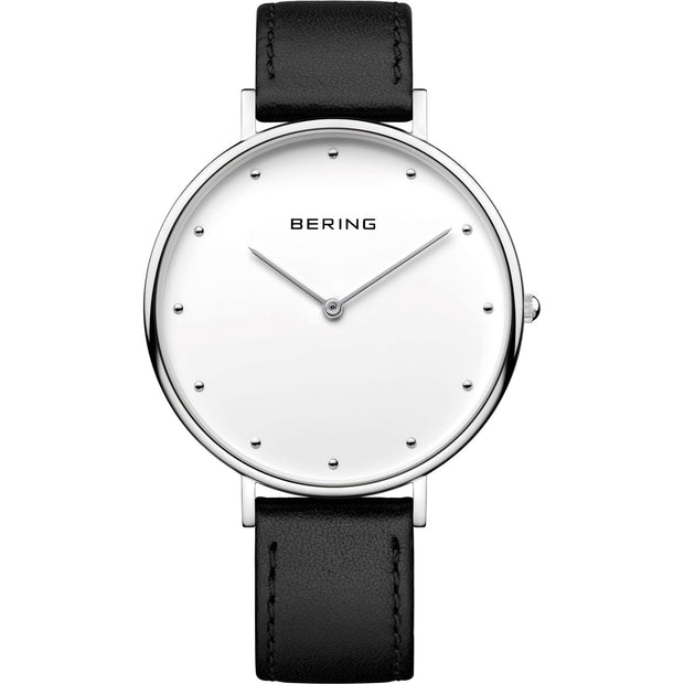 Bering Classic Silver 39 mm Unisex Watches 14839-404 - Bering