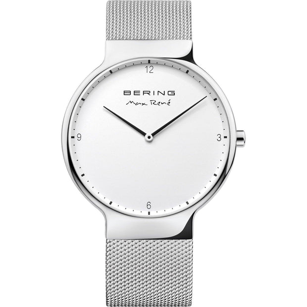Bering Max René Silver 40 mm Men's Watches 15540-004 - Bering