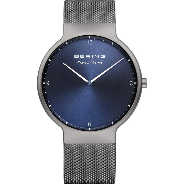 Bering Max René Grey 40 mm Men's Watches 15540-077 - Bering