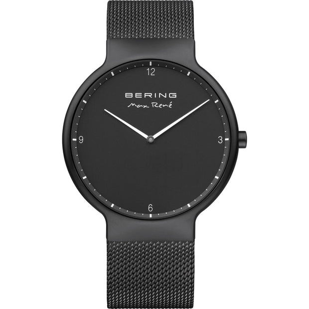 Bering Max RenéBlack Mat 40 mm Men's Watches 15540-123 - Bering