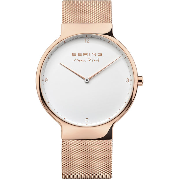 Bering Max René Rose Gold 40 mm Men's Watches 15540-364 - Bering