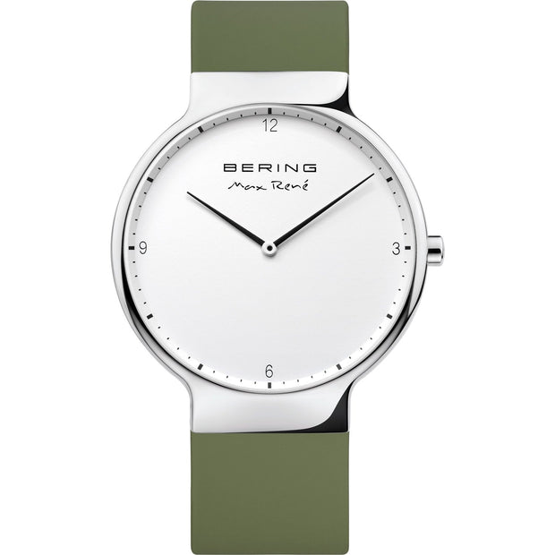 Bering Max René Silver 40 mm Men's Watches 15540-800 - Bering