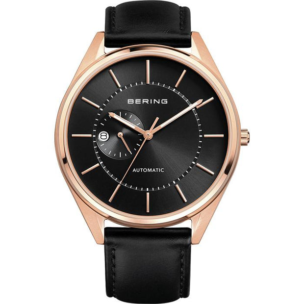 Bering Automatic black 43 mm male Watch (16243-462)
