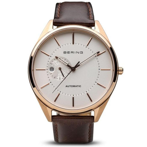 Bering Automatic white 43 mm male Watch (16243-564)
