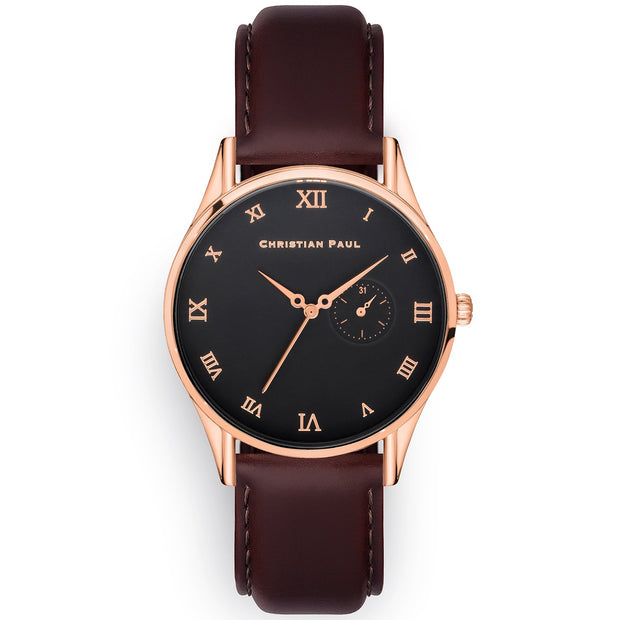 Christian Paul Alaric Rose Gold 40 mm  Unisex's Watches 181CBR4026 - Christian Paul